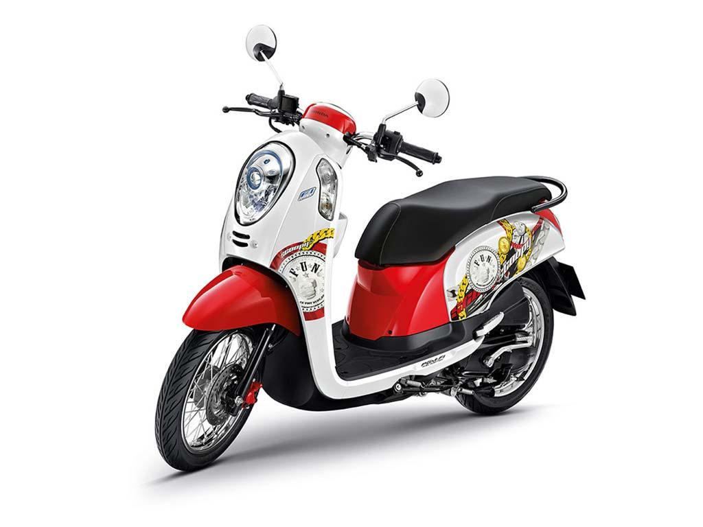 HONDA-SCOOPY-110cc