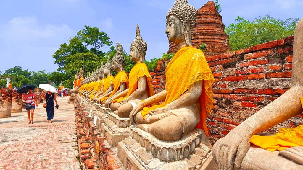 Thailand - Ayutthaya - Wat Yai Chai Mongkol